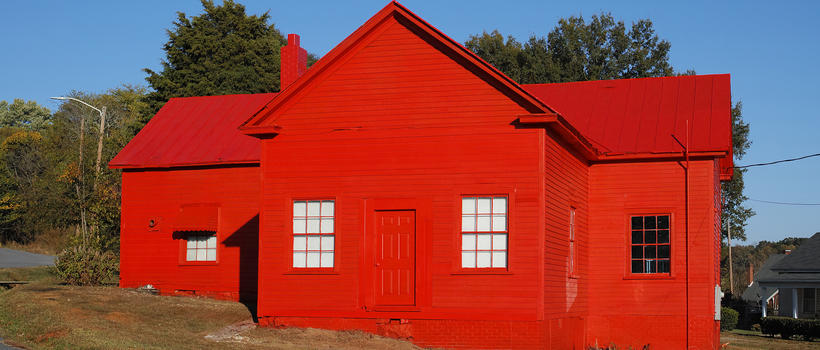 Eden, The Little Red Schoolhouse, de Sylvain Couzinet-Jacques