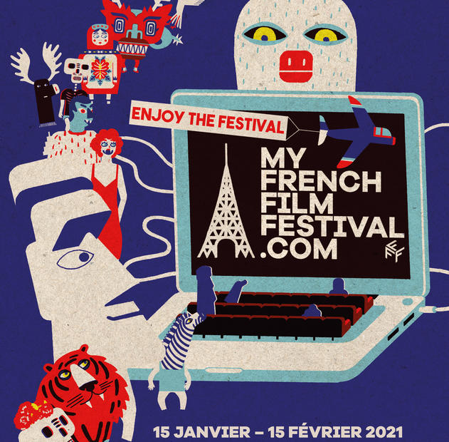 Affiche My French Film Festival