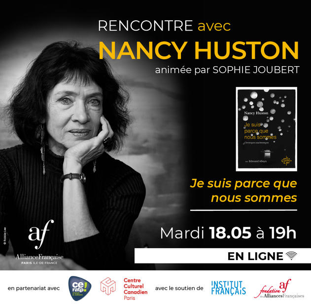 Rencontre avec Nancy Huston