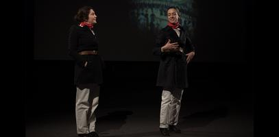 "The Saint-Simonians' Performance (""La Performance des Saint-Simoniens""), by Louise Hervé and Chloé Maillet"